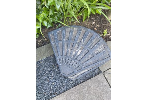 Ballast tegels parasol  - 901DA399-C3AF-4759-86DA-49398FF06983