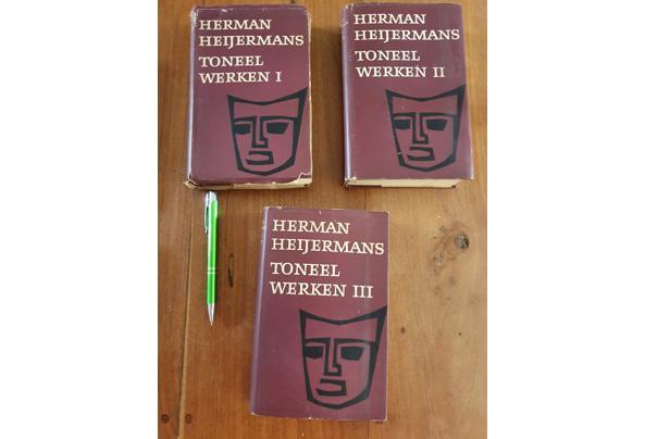 Verschillende boeken over toneel - H-Heijermans-serie