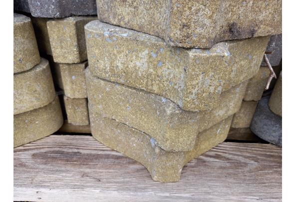 Lampionvorm tuintegels beton - tegelvorm-stapel