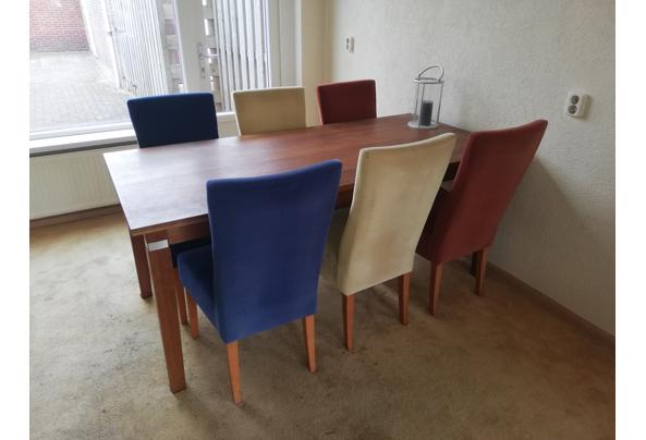 Eettafel met 6 stoelen - Eettafel