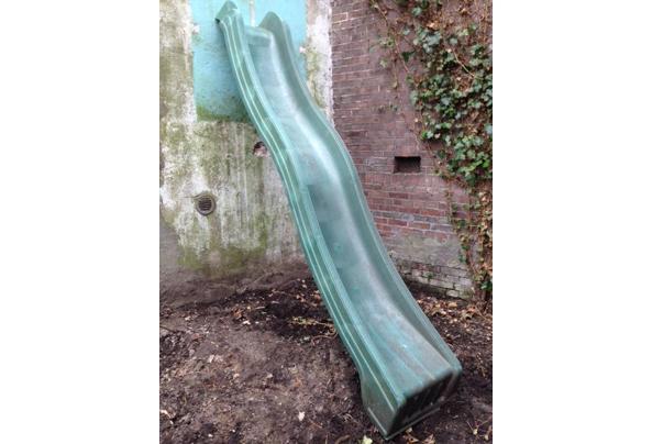 Kunststof glijbaan 290 x 50x 150 cm hoog - IMG_4813.JPG