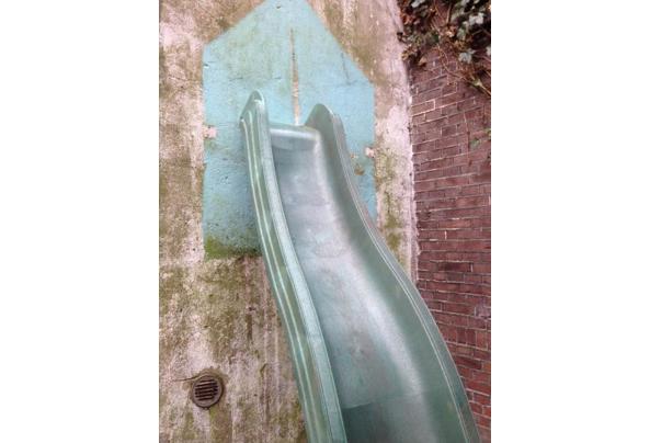 Kunststof glijbaan 290 x 50x 150 cm hoog - IMG_4814.JPG