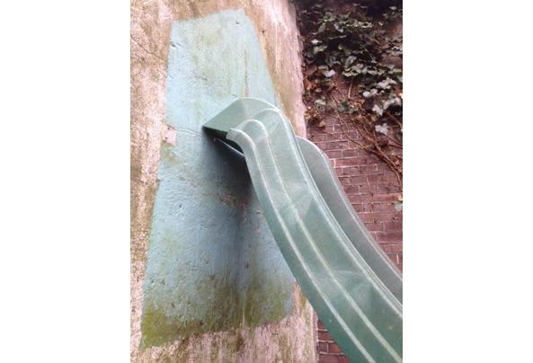 Kunststof glijbaan 290 x 50x 150 cm hoog - IMG_4815.JPG