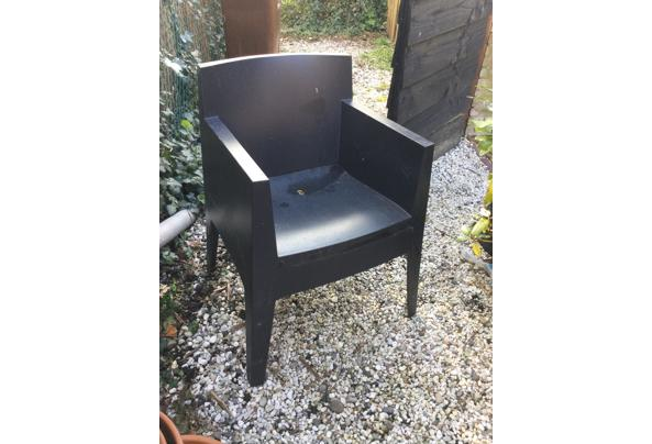 Buiten stoelen 4 stuks stapelbaar - E5B7B8EB-E018-4529-B783-E4B1AE673C07