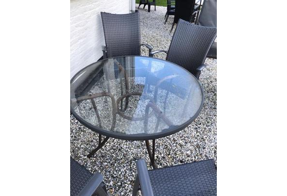 tafel en 4x stoelen - tafel5