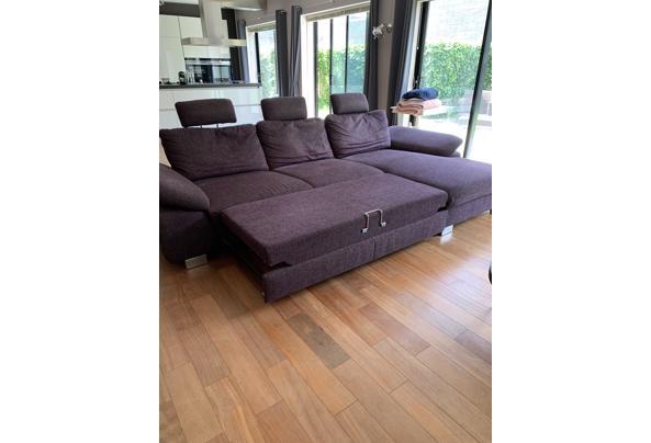 Loungebank in goede staat 320 x180 en uitklapbaar - 48C13EC8-61BB-45E5-9A44-4A1255B9FB6F