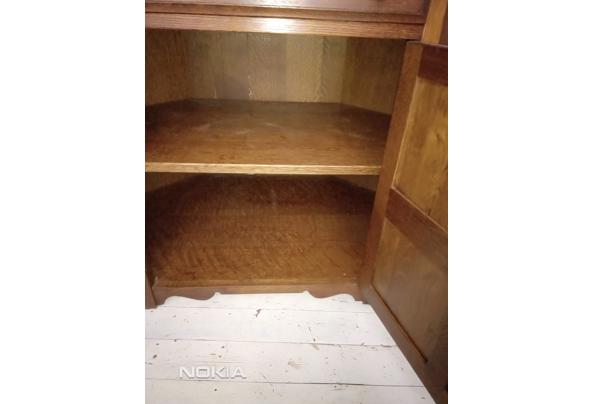 Hoekkast in gebruik geweest als t.v.- audio meubel. - IMG_20210313_163027
