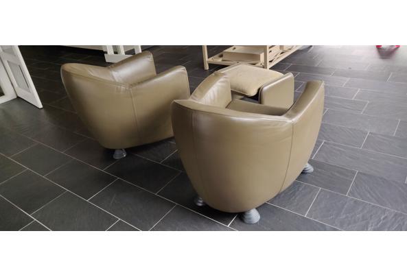2 Leolux fauteuils met voetensteun - IMG_20210222_145809