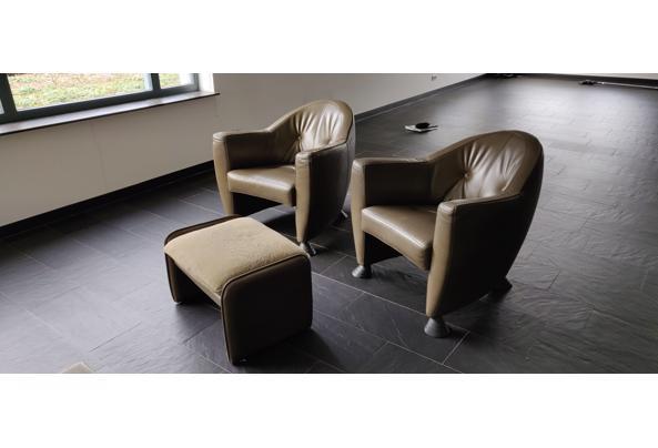 2 Leolux fauteuils met voetensteun - IMG_20210222_145828