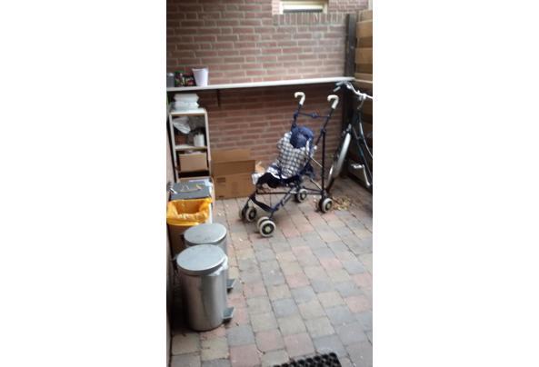 autostoeltje  - chicco-wandelwagentje