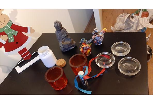 Decoratie en waxinelichtjes houders, kerst, aziatisch - 20210111_163343