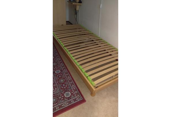 elektrisch verstelbaar eenpersoons bed (90x200), lage poten - bed-1