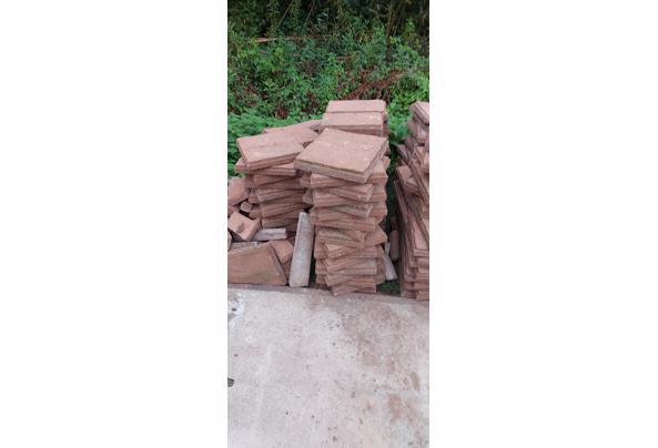 Wildverband tegels ruim 20 m2 - 20210915_184914
