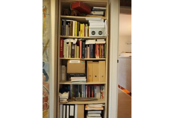 Boekenkast, esdoornfineer - kast