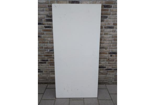 5 Witte tafels met extra werkblad erbij voor creavakken - IMG_20210716_150409