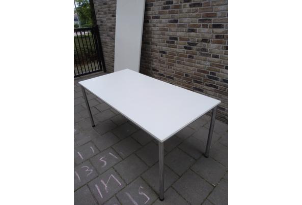 5 Witte tafels met extra werkblad erbij voor creavakken - IMG_20210716_150422