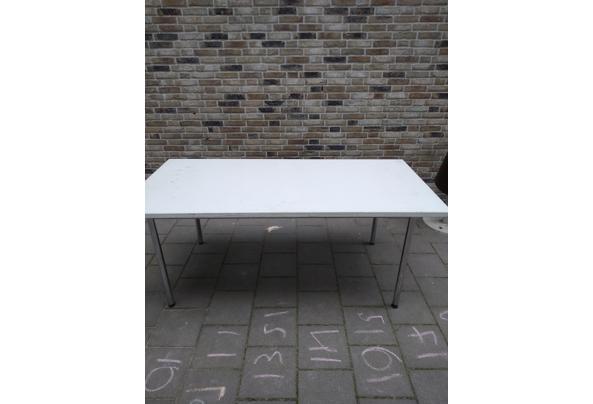 5 Witte tafels met extra werkblad erbij voor creavakken - IMG_20210716_150524