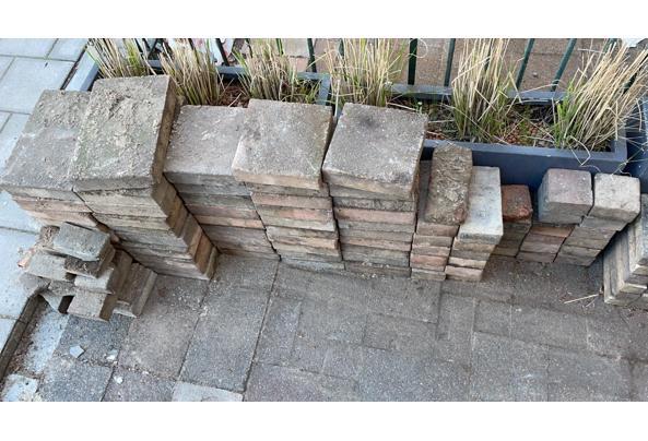 Tegels voor tuin bestrating 6m2  - 69515515-1B19-4478-92D6-D2842B4DED0A