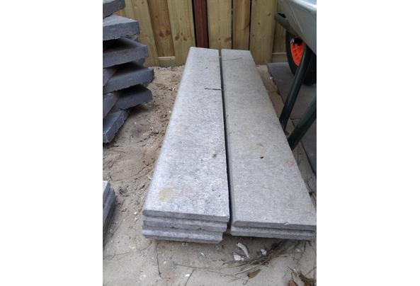 Terrastegels, betonbanden & vloertegels - betonband