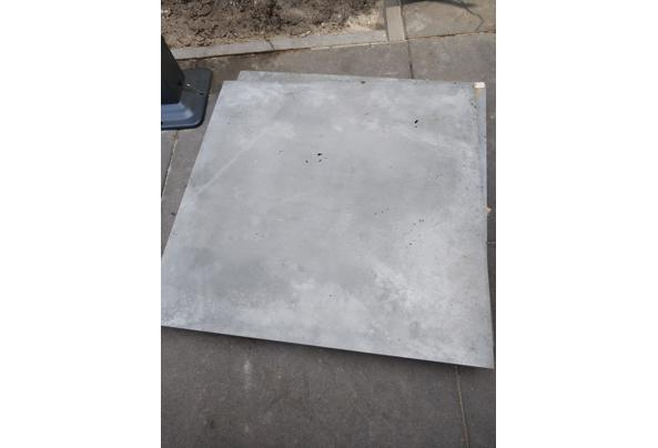 Terrastegels, betonbanden & vloertegels - tegels