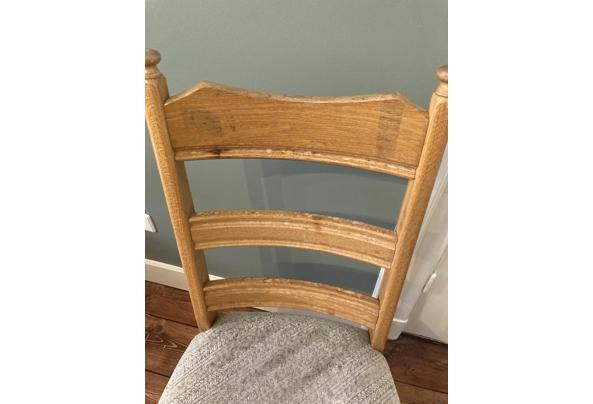 houten stoel uit de jaren 80  - image