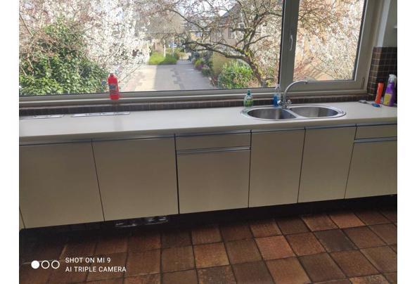 Keuken af te halen met gasfornuis en koelkast - IMG-20210419-WA0023