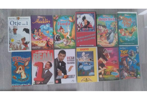 Verzameling Video's Disney en James Bond - VHSbanden-2