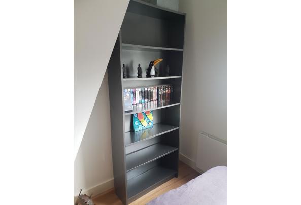 Billy boekenkast - grijs geverfd - 20210710_172944
