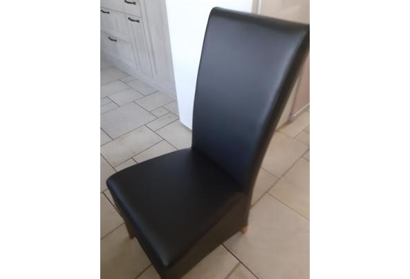 4 leren eetkamer stoelen  - 20210424_140946