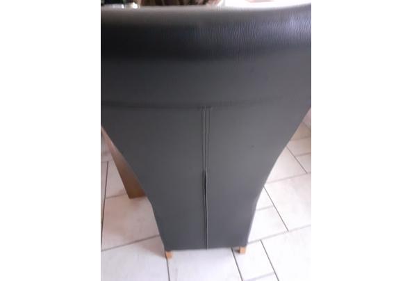 4 leren eetkamer stoelen  - 20210424_141038