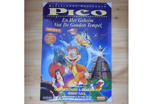 Filmposter 'Pico en het geheim van de gouden tempel' (1995) - DSCN0190_637340535572903156.JPG
