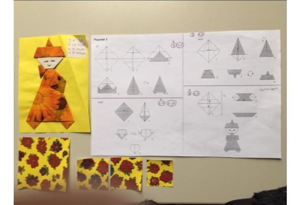 fimoklei, filigraan en origami papier - Afbeelding2