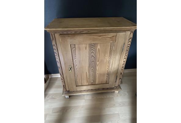 Antiek grenen TV meubel - 02A1B5A5-C3B5-4013-A050-FEF4CD958889