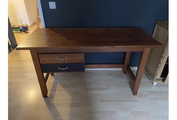 Antiek grenen TV meubel - 22291203-37C6-44F8-BC1E-383EB504EF77