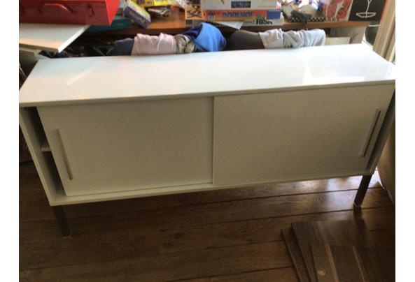 Twee leuke Ikea kastjes wit hoogglans - 32C6A60A-9BE4-443B-8899-789FC1A85A25
