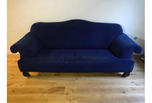 Blauwe comfortabele 3-zits bank, op te halen t/m 20 juli - IMG-20210718-WA0012