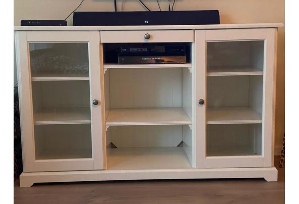 Nette witte tv-meubel, landelijke stijl - IMG-20210605-WA0022