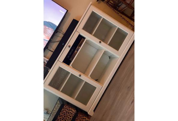 Nette witte tv-meubel, landelijke stijl - IMG-20210605-WA0023