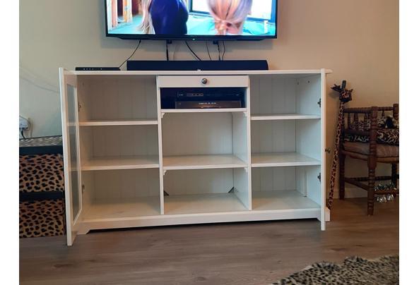 Nette witte tv-meubel, landelijke stijl - IMG-20210605-WA0024