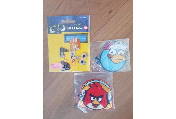 Angry birds en Wall-e patch strijkbaar - 20210425_155226