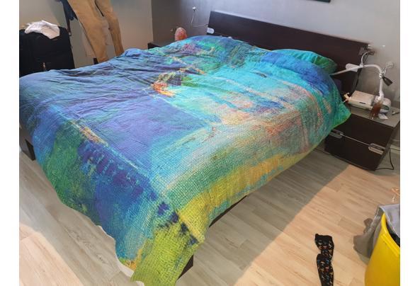 2 persoons bed met nachtkastjes - 20210303_082618