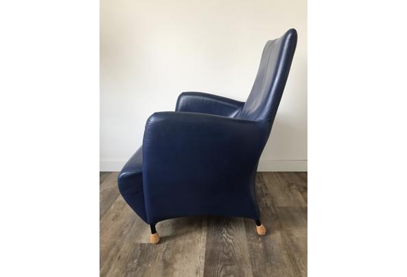 Blauwe fauteuil - DC4D6AE7-0DA8-4135-B444-85954F6679A6