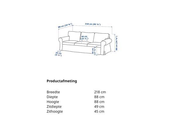 Ikea bank Ektorp - IMG-20210908-WA0020