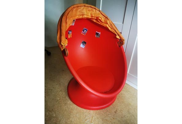 IKEA Lomsk Draaistoel rood oranje - IMG_20210713_110755_resized_20210713_111059479