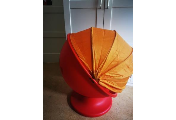 IKEA Lomsk Draaistoel rood oranje - IMG_20210713_110805_resized_20210713_111059339