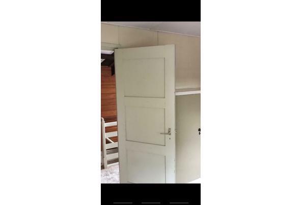 Oude paneeldeuren 9 stuks (6 dicht en 3 glas) - Deur4