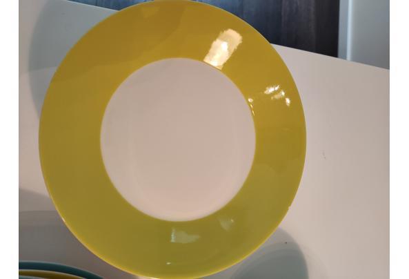 HEMA servies gekleurde rand - IMG20210702083305