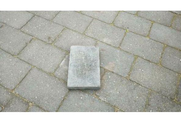 Gratis grijze terrastegels 20*30*6cm - $_84