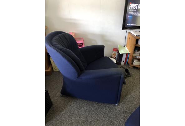 Leolux stoel met hocker - EFFBBF6C-BB03-4A7E-8959-7D0E49422863