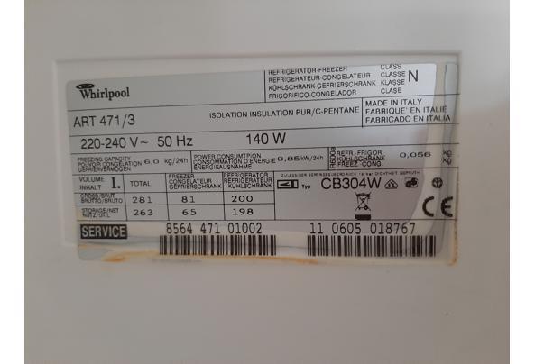 Inbouw Whirlpool koel vries combi  - 1604146317926821906641363102306